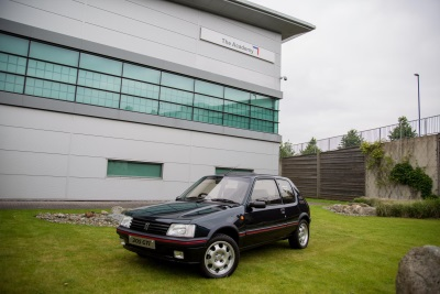 ENHANCING AN ICON: PEUGEOT UK APPRENTICES RENOVATE 205 GTI WITH APLOMB