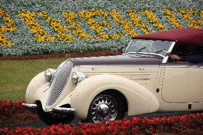 1938 Steyr Roadster Wins Best in Show at Pinehurst Concours