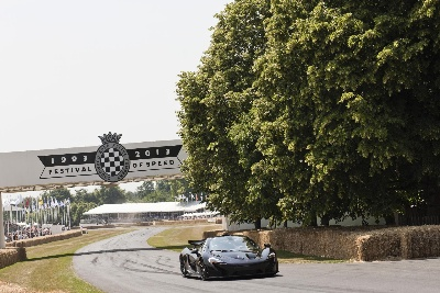 McLAREN CONTINUES 50TH ANNIVERSARY CELEBRATIONS AT 2013 GOODWOOD FESTIVAL OF SPEED