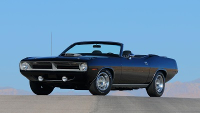 1970 PLYMOUTH HEMI CUDA CONVERTIBLE WILL STAR AT MECUM MONTEREY 2015