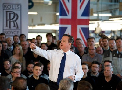 PRIME MINISTER DAVID CAMERON VISITS THE HOME OF ROLLS-ROYCE MOTOR CARS AND WELCOMES DEVELOPMENT OF ALL-NEW MODEL