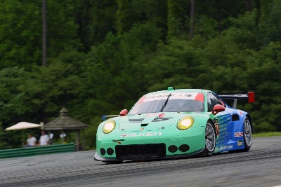 PORSCHE 911 RSR EARNS SECOND-PLACE OVERALL FINISH IN VIRGINIA, TAKES MANUFACTURER POINTS LEAD