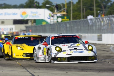 PORSCHE AIMS TO REPEAT LAST YEAR'S VICTORY AT FLORIDA'S SPORTS CAR CLASSIC, 12 HOURS OF SEBRING