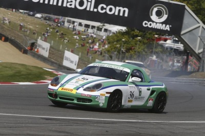 A FUEL PROTECT WINNER FOR PORSCHE CLUB CHAMPIONSHIP, BRANDS HATCH