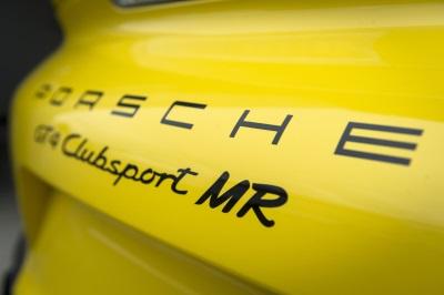 WORLD PREMIERE FOR PORSCHE GT4 CLUBSPORT MR
