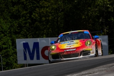 PORSCHE NORTH AMERICA WORKS TEAM EARNS TOP-FIVE IN CANADA; PARK PLACE PORSCHE FINISHES SECOND IN EXCITING GTD BATTLE