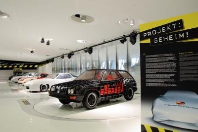 NEW SPECIAL EXHIBITION AT THE PORSCHE MUSEUM: 'PROJECT: TOP SECRET!'