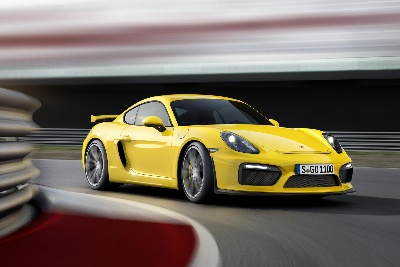 PORSCHE SHOWS TWO NEW HIGH-PERFORMANCE CARS FOR THE FIRST TIME