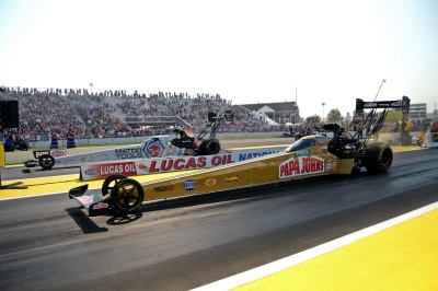Pritchett Takes Top Fuel Win For Mopar At NHRA Brainerd, Johnson Runner-Up In Funny Car