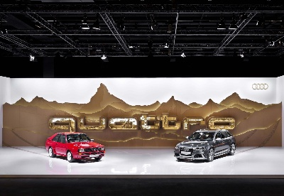 Quattro Silhouettes: Audi At Design Miami/Basel