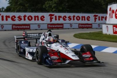 Rahal, Honda Dominate In Detroit