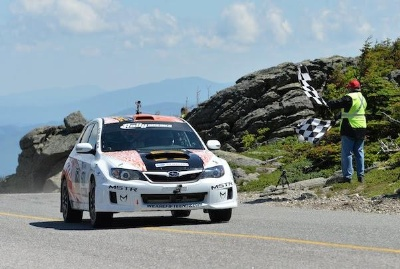 RALLY AMERICA NATIONAL CHAMPIONSHIP ACTION COMES TO THE NEW ENGLAND FOREST RALLY