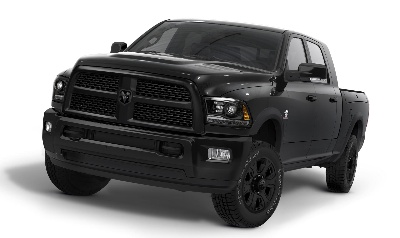 POPULAR RAM 'BLACK PACKAGE' EXPANDS TO RAM HEAVY DUTY PICKUP