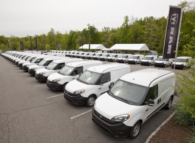 RAM BOOSTS DELIVERIES ON PROMASTER CITY TO MEET DEMAND; NEW YORK DEALERS DRIVE AWAY WITH DOZENS OF NEW VANS