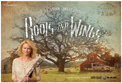 RAM TRUCK LAUNCHES NEW CAMPAIGN WITH MIRANDA LAMBERT FEATURING CUSTOM 'ROOTS AND WINGS' SONG WRITTEN BY LAMBERT