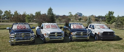 RAM LAUNCHES 2015 HEAVY DUTY MODELS WITH A TRIFECTA OF CLAIMS: BEST-IN-CLASS POWER, TOWING CAPACITY AND PAYLOAD CAPACITY