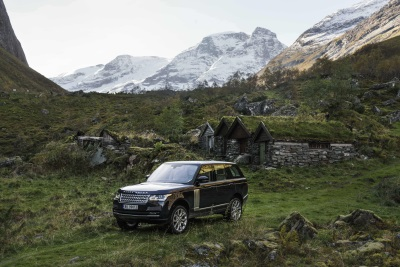 A PICTURE OF REFINEMENT: RANGE ROVER AND JONAS BENDIKSEN CAPTURE WORLD'S ULTIMATE VISTAS