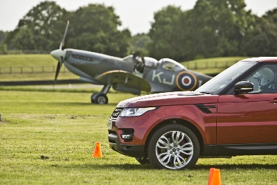 All-New Range Rover Sport Takes On Mighty Spitfire In A Unique Duel Of British Legends At Goodwood