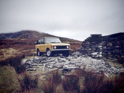 Range Rover Reborn Set For World Debut At Salon Rétromobile 2017