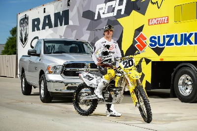 Ram Truck, RCH Racing Team Up for Motocross