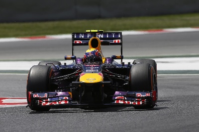 RED BULL IS FOURTH AND FIFTH AS ALONSO REIGNS IN SPAIN