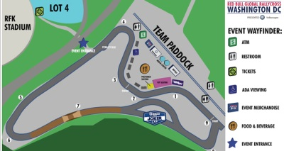 NEW TRACK LAYOUT REVEALED FOR RED BULL GRC WASHINGTON DC PRESENTED BY VOLKSWAGEN
