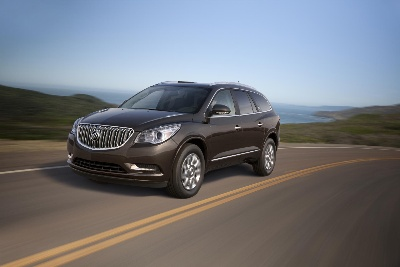 REDESIGNED BUICK ENCLAVE BEGINS EXPORT TO CHINA
