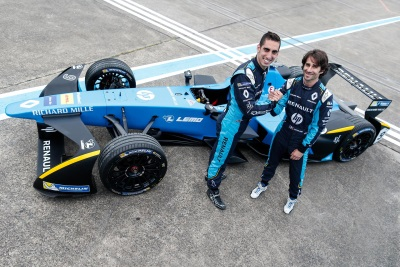 Renault E.Dams Confirm Sébastien Buemi And Nicolas Prost Until 2019 In The FIA Formula E Championship
