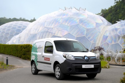 RENAULT EVS GO BACK TO NATURE AT THE EDEN PROJECT