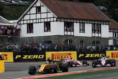 Formula 1 Belgian Grand Prix 2017, Sunday