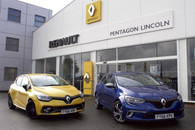 RENAULT SPORT DEALER NETWORK STRENGTHENED WITH THE APPOINTMENT OF PENTAGON LINCOLN