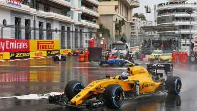 RENAULT SPORT FORMULA ONE TEAM SUFFERS DISAPPOINTING DOUBLE RETIREMENT IN MONACO