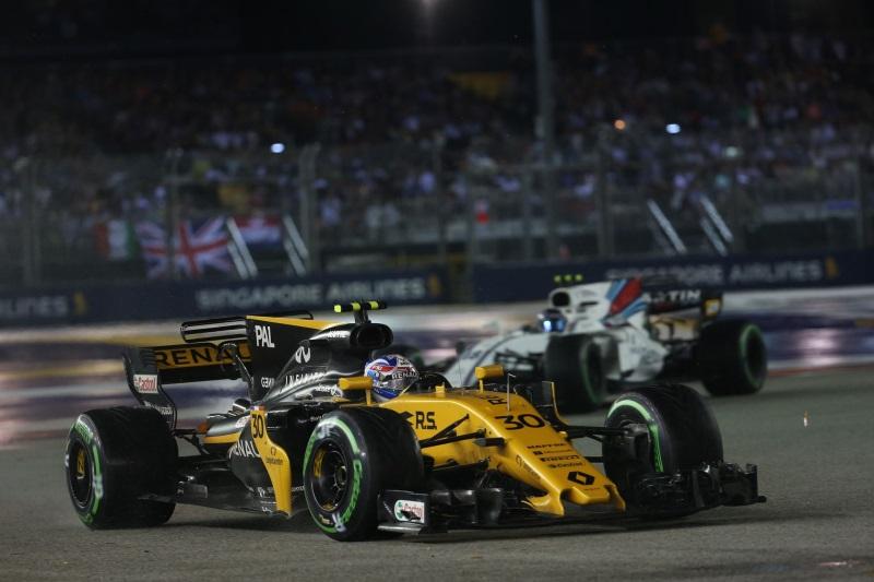 Renault Sport Racing Formula One Team: Formula 1 Singapore Grand Prix, Sunday