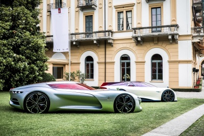 Renault Trezor Voted Most Beautiful Concept Car At Concorso d'Eleganza Villa d'Este