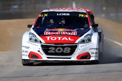 Riga Weekend Sees Sébastien Loeb And The Peugeot 208WRX Continue Their Collection Of Podium Finishes