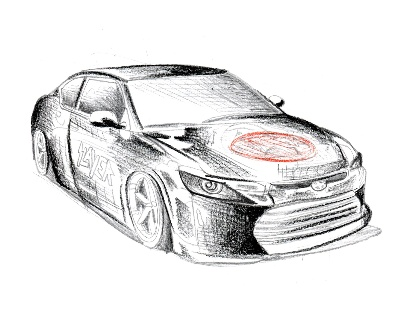 Sketches Give Peek at Riley Hawk and Slayer-Inspired Scion Vehicles for SEMA Show