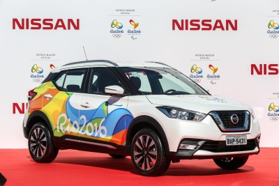 RIO 2016 ORGANIZING COMMITTEE RECEIVES FROM NISSAN THE OFFICIAL VEHICLE FLEET FOR RIO 2016 OLYMPIC AND PARALYMPIC GAMES