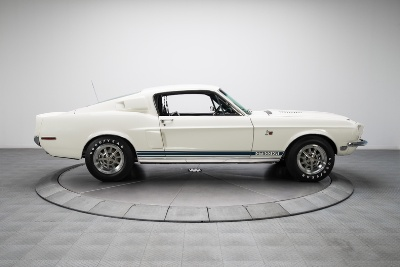 Trio of Rare, Fully Restored Shelby GT's Hits Showroom at RK Motors Charlotte