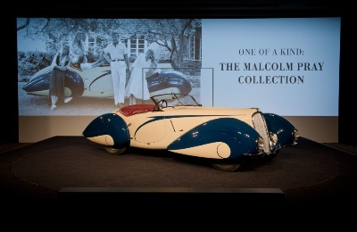 EXCEPTIONAL $6.6 MILLION 1937 DELAHAYE 135 COMPETITION COURT TORPEDO ROADSTER TOPS RM'S RECORD-BREAKING AMELIA ISLAND SALE