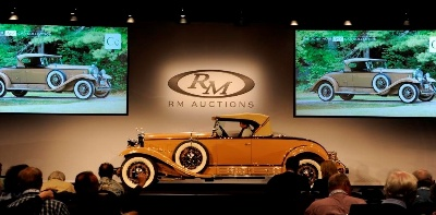 C IS FOR CADILLAC: $1.1 MILLION V-16 ROADSTER LEADS RM'S STRONGEST PERFORMANCE IN HERSHEY