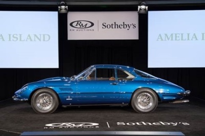 BEST-OF-CATEGORY AUTOMOBILES DRIVE RM SOTHEBY'S $38.6 MILLION AMELIA ISLAND CONCOURS D'ELEGANCE SALE