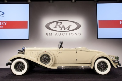 RM Auctions Continues Strong 2013 Auction Season with $9.6 Million Hershey Sale