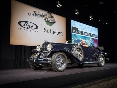 Historic, Fresh-to-the-market Classics Shine at RM Sotheby's 10th Anniversary Hershey Sale