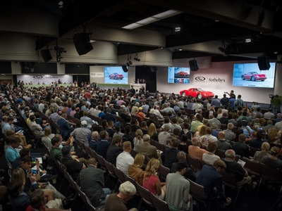 RM Sotheby's Sets Pace in Monterey with More Than $120 Million in Sales During First Two Nights...