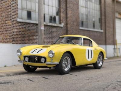 Spectacular N.A.R.T. Ferrari 250 GT SWB Berlinetta Competizione Rounds Out Unprecedented 'Pinnacle Portfolio'