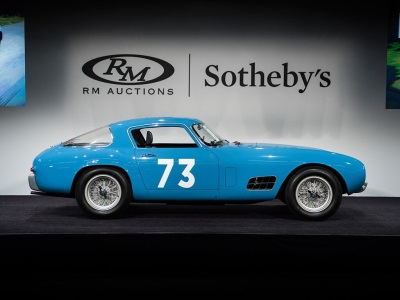 Historic Ferrari 250 GT 'Tour de France' Leads Third Night of Record Sales at RM Sotheby's Monterey