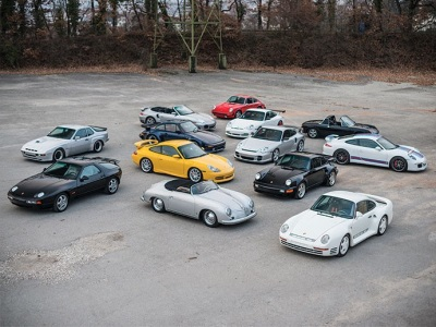 PORSCHE FEVER AS RM SOTHEBY'S ANNOUNCES NO RESERVE, SINGLE-OWNER PORSCHE COLLECTION