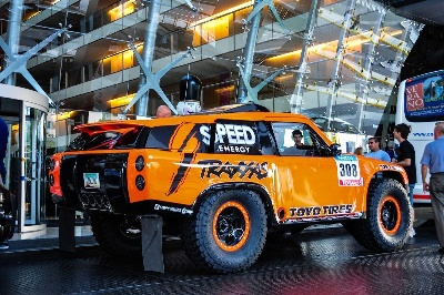 ROBBY GORDON SET TO MAKE HIS IN 11TH START IN THE DAKAR RALLY
