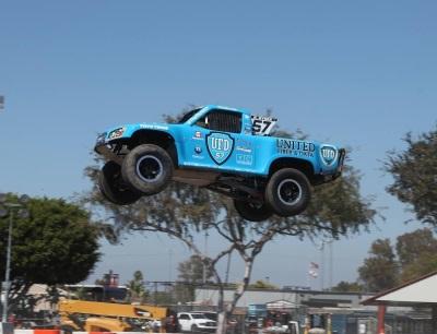 ROBBY GORDON WINS STADIUM SUPER TRUCKS NIGHT 1 IN COSTA MESA, CALIFORNIA