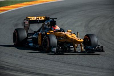 Robert Kubica Gets The Formula 1 Feeling In Valencia